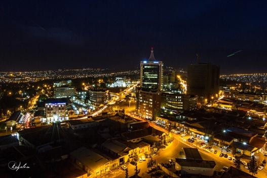 Kigali at Night. File